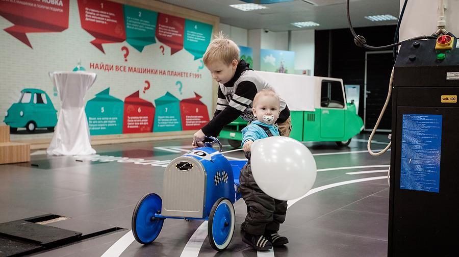 7d0a27363e15 В Москве открылся детский «Музей автомобильных историй»