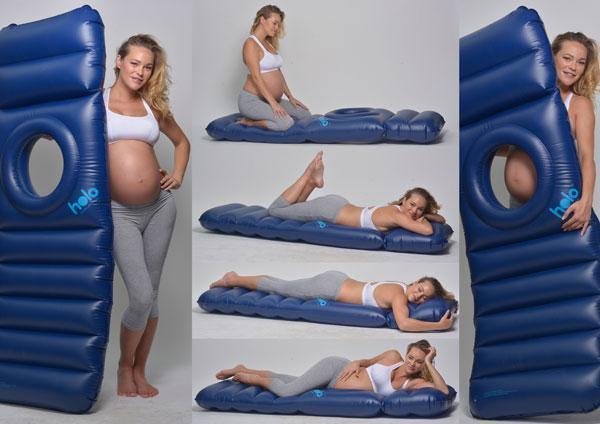 Чтобы спать на животе беременной